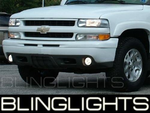 2001-2006 Chevrolet Suburban Z71 Halo Fog Lights Lamps