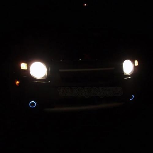 2002 2003 2004 Nissan Xterra Halo Angel Eye Fog Lamps Lights Kit