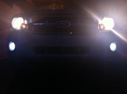 2001-2008 Mazda Tribute Halo Fog Lamp Driving Lights Kit