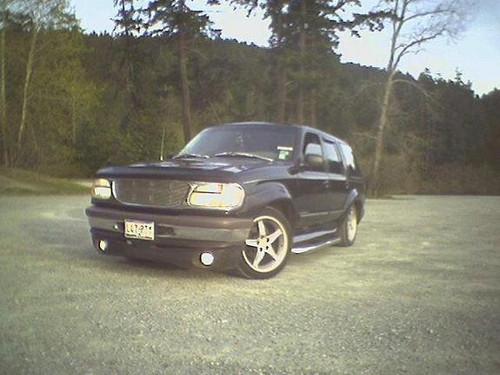 1995-2001 Ford Explorer Xenon Body Kit Bumper Fog Lamps Driving Lights