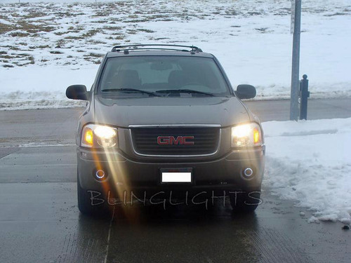 GMC Envoy Angel Eye Driving Lights Fog Lamps Kit 2002 2003 2004 2005 2006 2007 2008 2009