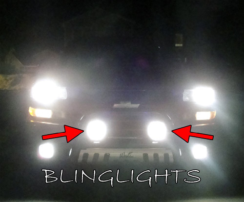 Chevrolet Suburban Auxiliary Bumper or Bar Driving Lights Off Road Lamp Kit