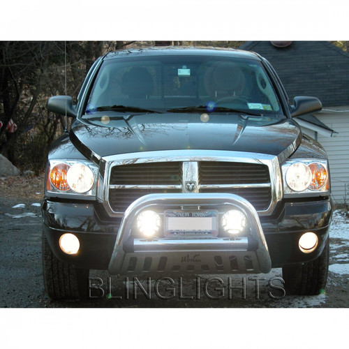 Dodge Nitro Off Road Auxiliary Light Bar Driving Lamps Lights Bumper Lamps
