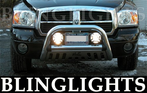 1990-2008 CHEVROLET TRACKER BRUSH BAR DRIVING LAMPS 1999 2000 2001 2002 2003 2004 2005 2006 2007