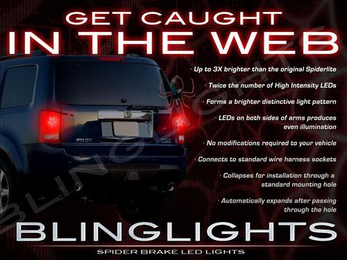 Honda Pilot LED Custom Brake Upgrade Light Bulbs for Taillamps Taillights Tail Lamps Lights