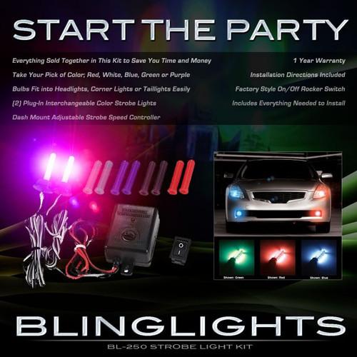 Subaru Tribeca Xenon Head Lamp Police Strobe Light Kit