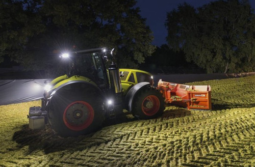 Claas Axion LED Auxiliary Flood Lamps Lights Kit