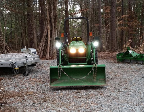 John Deere LED Auxiliary Flood Lamps Lights Kit