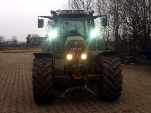 Fendt Tractor Combine Forage Harvester LED Auxiliary Food Lamps Lights Kit