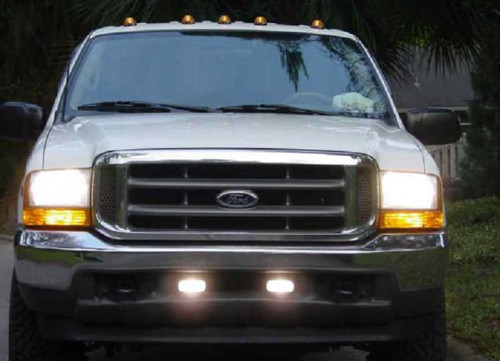 1999-2007 Ford Super Duty Fog Lamps Lights F-250 F-350 F-450 F-550