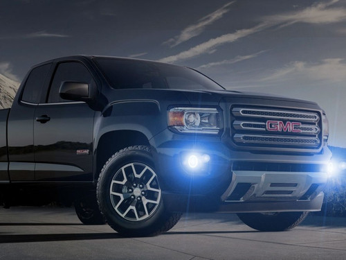 2015 2016 2017 2018 2019 GMC Canyon Halo Fog Lamps Lights Kit