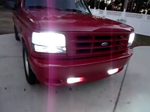1993 1994 1995 Ford F150 SVT Lightning Fog Lamps Driving Lights