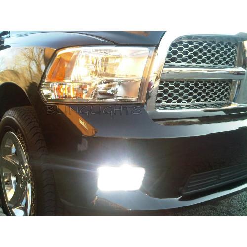 2009 2010 2011 2012 Dodge Ram 4500 5500 Xenon Fog Lamps Driving Lights Foglamps Foglights Kit