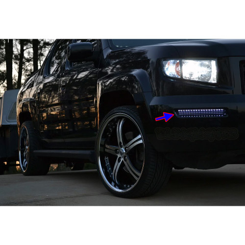 Honda Ridgeline LED DRL Light Strips Day Time Running Lamp Kit