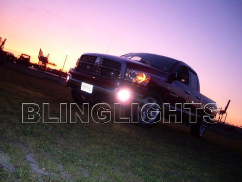 1999-2002 Dodge Ram 2500 Angel Eye Fog Lamps Driving Lights Kit Halo