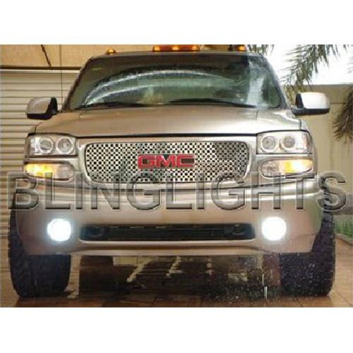 2001 GMC Sierra C3 Denali Halo Fog Lamp Driving Light Kit Angel Eyes