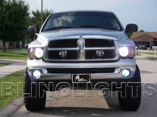 06 07 2008 Dodge Ram Bright White Head Lamp Light Bulbs