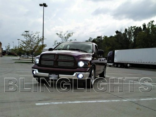 06 07 2008 Dodge Ram Bright White Head Lamp Light Bulbs
