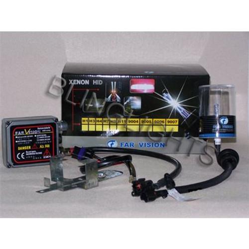 H9 4300K White 55 Watt Xenon HID Lamp Conversion Kit JDM 55w HIDs