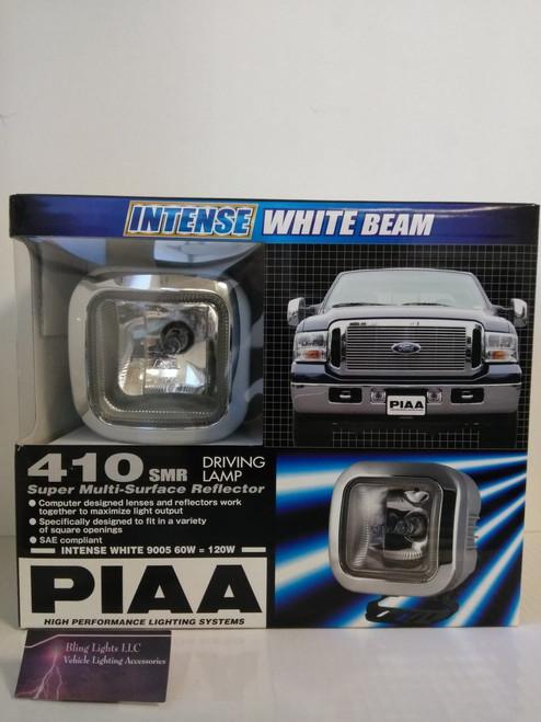 PIAA 410 Intense White 60W Square Cube Driving Light Kit