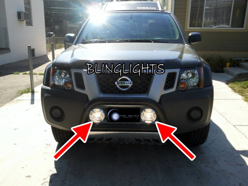 Nissan Titan Westin Lamp Bar Off Road Driving Lights Auxiliary Lighting Kit