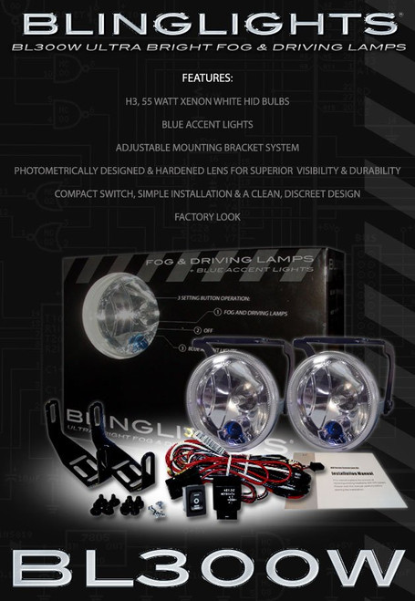 Dodge Ram Xenon Body Kit Foglamps Foglights Driving Fog Lamps Lights