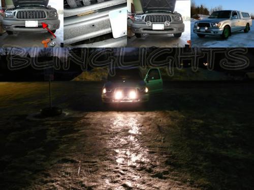 Toyota HiLux Off Road Bumper Or Bull Bar Driving Lights Kit