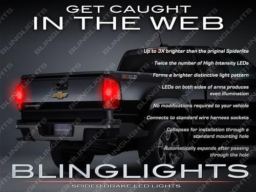 Chevrolet Colorado Custom LED Tail Lamp Spider Light Bulbs Chevy