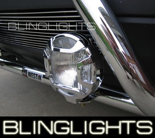 1990-1999 CHEVROLET SCOTTSDALE BRUSH BAR DRIVING LAMPS 1991 1992 1993 1994 1995 1996 1997 1998