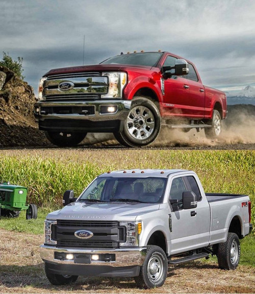 Fog Lamps DRL Lights Kit for 2017 2018 2019 Ford F-250 F-350 F-450