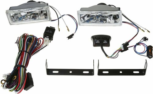 BL1058 Fog Light Kit w/ LED Daytime Running Lights
