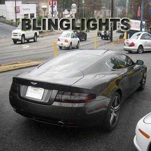 Aston Martin DB9 Coupé / Volante Tinted Smoked Protection