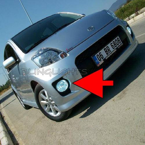 2004 2005 2006 2007 2008 2009 2010 Daihatsu Sirion Xenon Fog Lamps Lights Foglamps Foglights Kit
