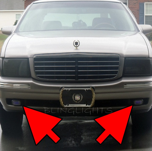 1994 1995 1996 1997 1998 1999 Cadillac DeVille Xenon Fog Lamps Driving Lights Foglamps Foglights Kit