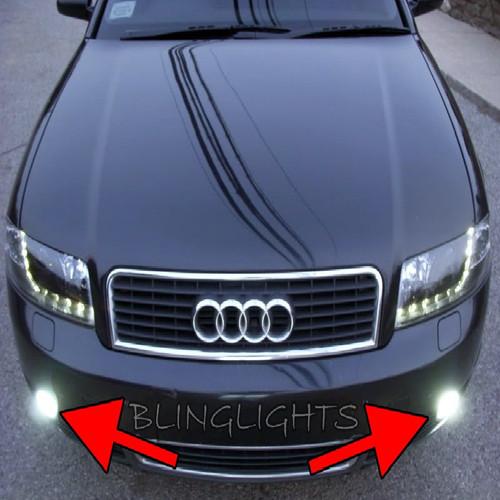 2002 2003 2004 2005 Audi A4 Xenon Fog Lamps Driving Lights Foglamps Foglights Drivinglights Kit