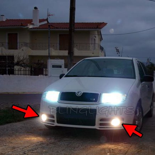 Skoda Fabia Mk1 Fog Lamp Driving Light Kit Škoda 1999 2000 2001 2002 2003 2004 2005 2006 2007