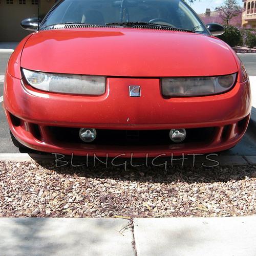 1997 1998 1999 2000 Saturn SC Xenon Foglamps Fog Lamps Driving Lights Kit Sports Coupe SC1 SC2