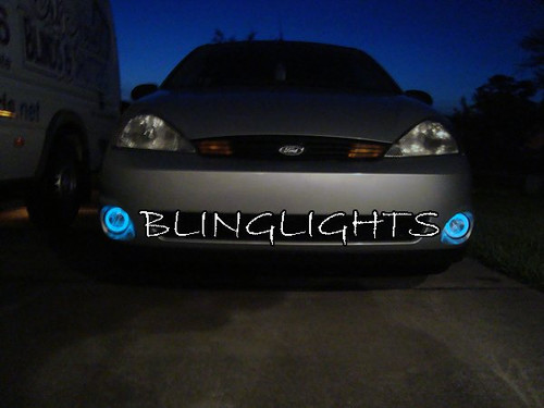 2001-2004 Ford Focus SVT mk1 Halo Fog Lamp Light Kit Angel Eye Drivinglights