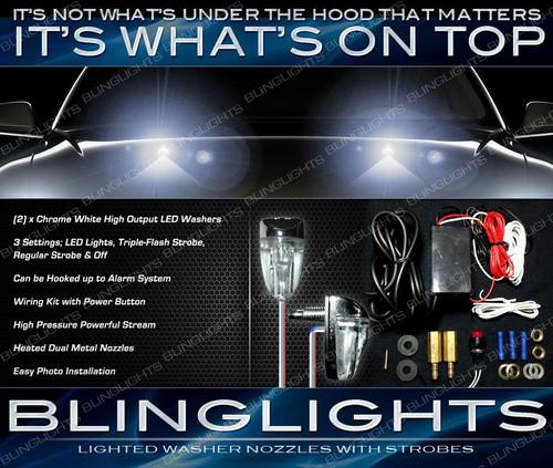 Dodge Avenger LED Strobe Washers Hood Nozzles Windshield Sprayers