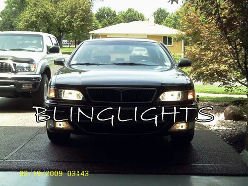 1997 1998 1999 2000 Infiniti I30 LED DRL Light Strips Headlamps Headlights Day Time Running Lamps