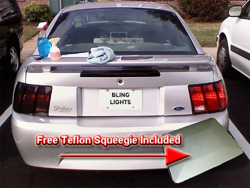 2004-2006 Hyundai Elantra Smoked Tinted Tail Light Lamps Overlays Film Protection