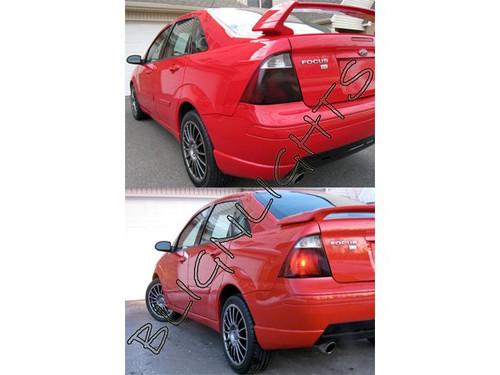 2006-2011 Hyundai Accent Smoked Tail Light Lamp Kit Tinted Protection Film