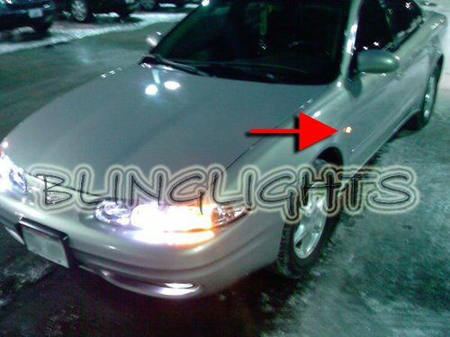 Oldsmobile Alero LED Turnsignals Turn Signalers Lamps Side Lights 1999 2000 2001 2002 2003 2004