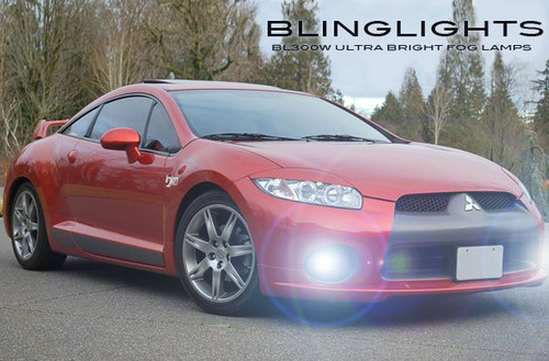 2006 2007 2008 Mitsubishi Eclipse Xenon Foglamps Foglights Fog Lamps Driving Lights Kit