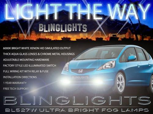 2009 2010 2011 2012 Honda Jazz Xenon Fog Lamps Driving Lights Foglamps Foglights Drivinglights Kit