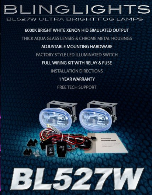 2011 2012 Honda CR-Z Xenon Fog Lights Driving Lamps Kit CRZ foglamps drivinglights