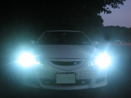 03-08 Mazda6 Head Lamps Lights Xenon HID Kit Conversion Upgrade
