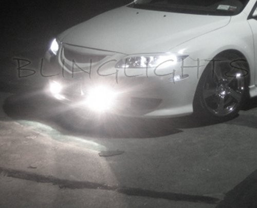 2003 2004 2005 2006 2007 2008 Mazda6 Xenon Grille Fog Lamps Driving Lights Foglamps Foglights Kit