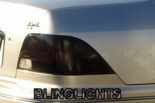1999-2004 Acura RL Smoked Tinted Taillamps Taillights Overlays Film Protection