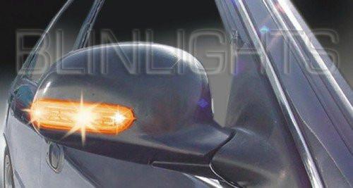 1996-1999 Mercedes E320 Tinted Taillamp Overlay Covers w210 e-class